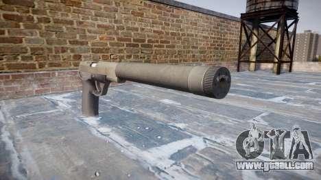 Gun QSZ-92 silencer for GTA 4
