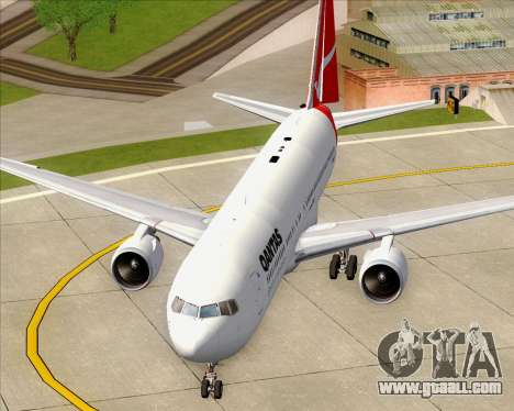 Boeing 767-300ER Qantas (Old Colors) for GTA San Andreas