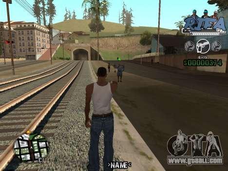 C-HUD Rifa for GTA San Andreas third screenshot
