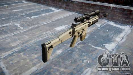 Rifle Mk 17 SCAR-H for GTA 4 second screenshot