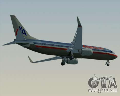 Boeing 737-800 American Airlines for GTA San Andreas engine