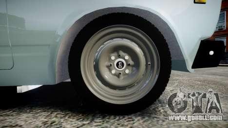 VAZ-21054 for GTA 4 back view