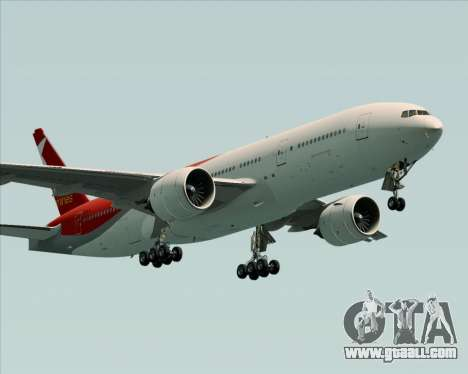 Boeing 777-21BER Nordwind Airlines for GTA San Andreas right view