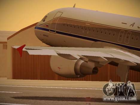 Airbus A320-214 Aeroflot Retrojet for GTA San Andreas