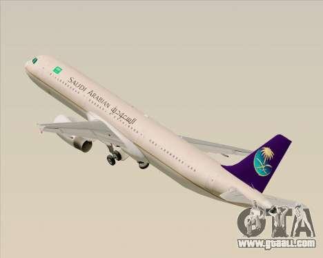 Airbus A321-200 Saudi Arabian Airlines for GTA San Andreas