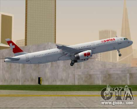 Airbus A321-200 Swiss International Air Lines for GTA San Andreas