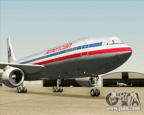 Airbus A300-600 American Airlines for GTA San Andreas engine