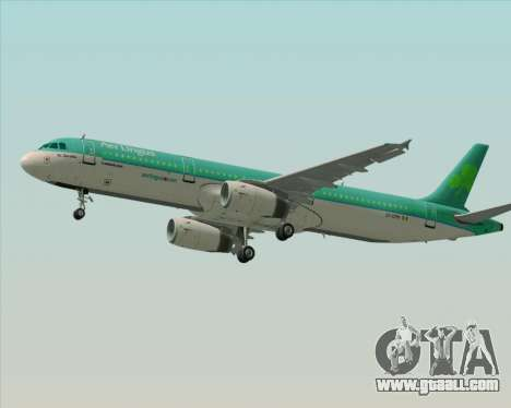 Airbus A321-200 Aer Lingus for GTA San Andreas engine
