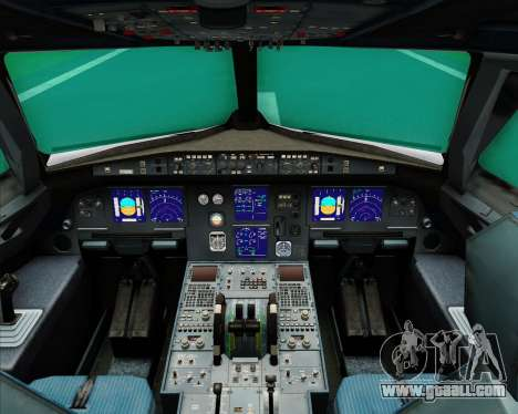 Airbus A321-200 Middle East Airlines (MEA) for GTA San Andreas interior