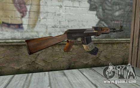 AK47 from Firearms v2 for GTA San Andreas second screenshot