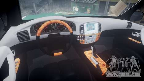 Toyota Land Cruiser Guardia Civil Cops [ELS] for GTA 4 back view