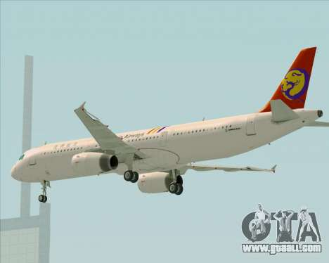 Airbus A321-200 TransAsia Airways for GTA San Andreas engine
