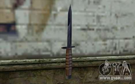 American knife for GTA San Andreas second screenshot