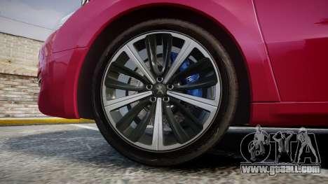 Peugeot 508 v1.2 for GTA 4 back view