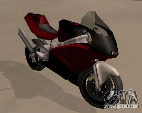 NRG-500 Winged Edition V.1 for GTA San Andreas back view