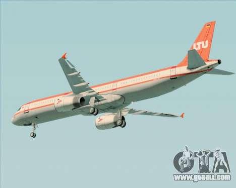 Airbus A321-200 LTU International for GTA San Andreas inner view