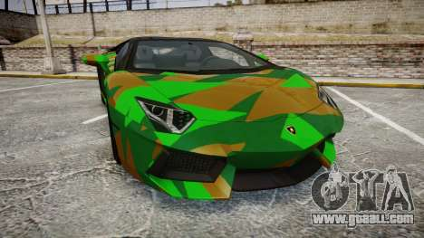 Lamborghini Aventador LP760-4 Camo Edition for GTA 4