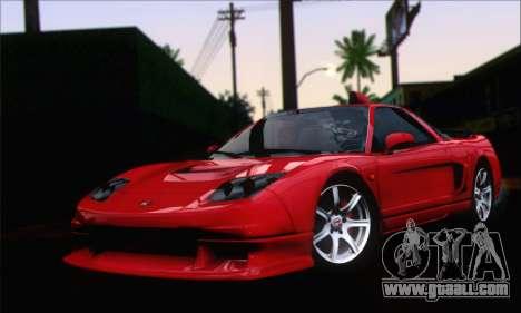 Honda NSX 2005 for GTA San Andreas right view
