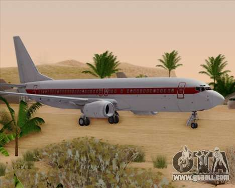 Boeing 737-800 EG&G - Janet for GTA San Andreas