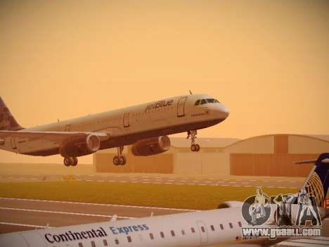 Airbus A321-232 jetBlue Do-be-do-be-blue for GTA San Andreas left view