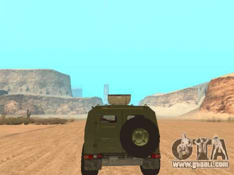 GAZ 2975 for GTA San Andreas back view