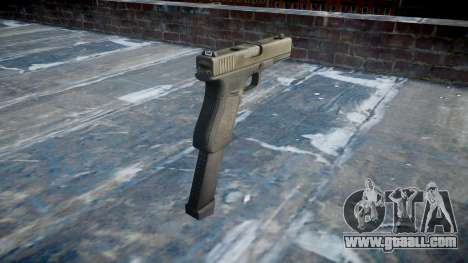 Pistol Glock 18 for GTA 4 second screenshot