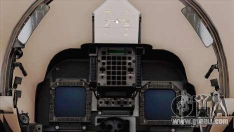 EMB AV-8 Harrier II USA NAVY for GTA San Andreas right view