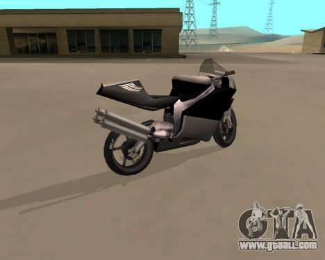 NRG-500 Winged Edition V.1 for GTA San Andreas left view