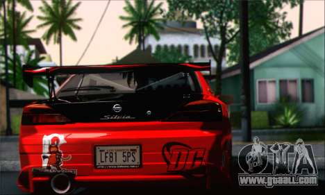 Nissan Silvia S15 Team Drift Monkey for GTA San Andreas left view