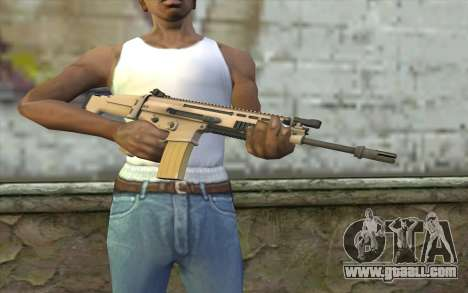 MK 16 SCAR for GTA San Andreas third screenshot