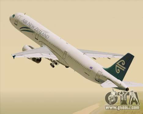 Airbus A321-200 Air New Zealand for GTA San Andreas