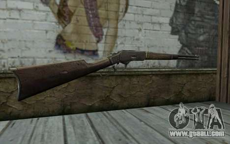 Winchester 1873 v2 for GTA San Andreas second screenshot
