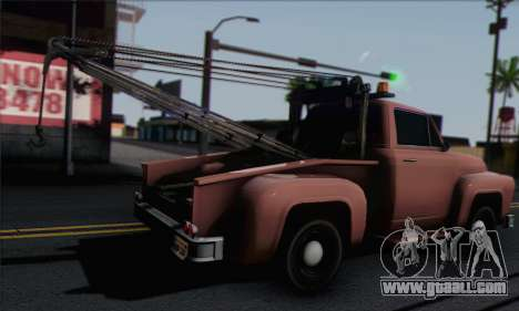 Towtruck GTA 5 for GTA San Andreas left view