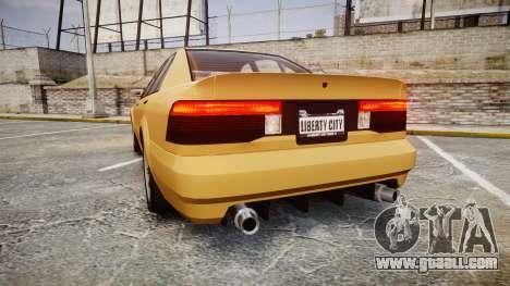 Maibatsu Vincent GT v2.0 for GTA 4 back left view