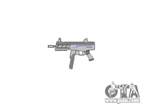 Gun SMT40 no butt icon3 for GTA 4 third screenshot