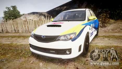 Subaru Impreza Cosworth STI CS400 2010 Custom for GTA 4