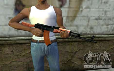 АКМ from Half - Life Paranoia for GTA San Andreas third screenshot