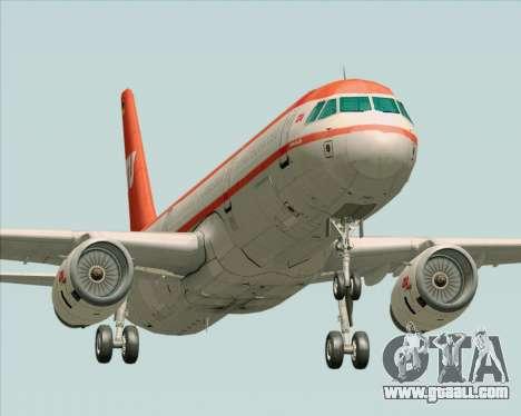 Airbus A321-200 LTU International for GTA San Andreas left view
