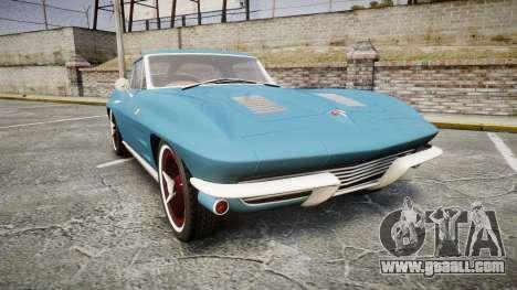 Chevrolet Corvette Stingray 1963 v2.0 for GTA 4