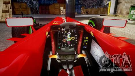 Ferrari F138 v2.0 [RIV] Alonso TIW for GTA 4 inner view