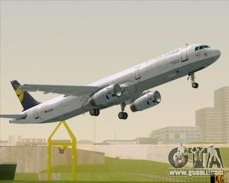 Airbus A321-200 Lufthansa for GTA San Andreas