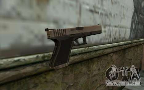 Glock from Half - Life Paranoia for GTA San Andreas second screenshot