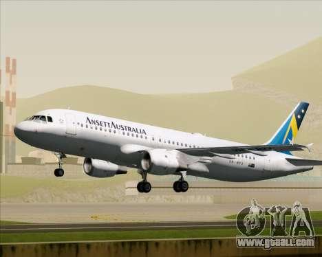 Airbus A320-200 Ansett Australia for GTA San Andreas