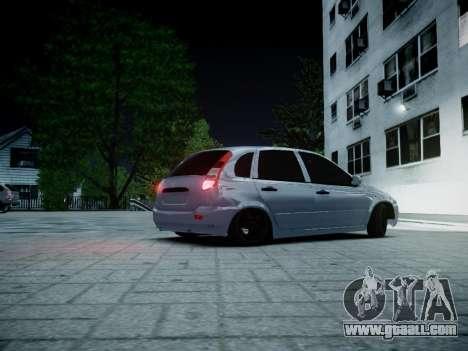VAZ 1119 for GTA 4 left view