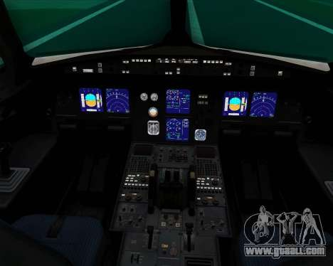Airbus A321-200 Thomas Cook Airlines for GTA San Andreas interior