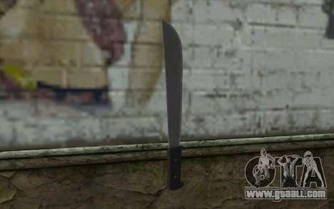 Machete (DayZ Standalone) v2 for GTA San Andreas second screenshot