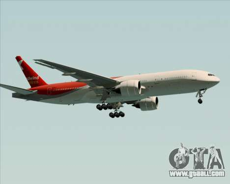 Boeing 777-21BER Nordwind Airlines for GTA San Andreas back view