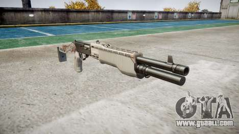 Ружьё Franchi SPAS-12 Choco for GTA 4