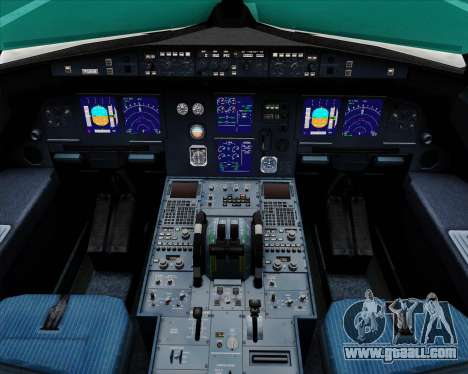 Airbus A321-200 Air Australia for GTA San Andreas interior
