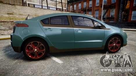 Chevrolet Volt 2011 v1.01 rims2 for GTA 4 left view